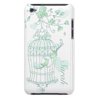 Caja conocida verde de iPod de los pájaros y de la iPod Case-Mate Cárcasa