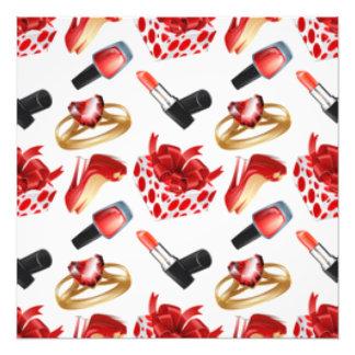 Caja cosmética del abrigo del anillo de diamante cojinete
