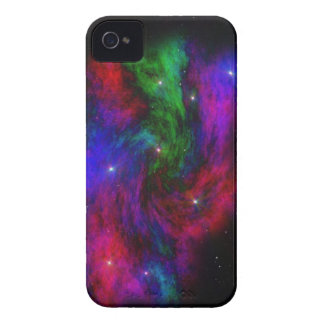 Caja cósmica de Blackberry de la lona Carcasa Para iPhone 4