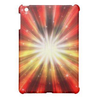 Caja cósmica de la mota del iPad de la explosión d
