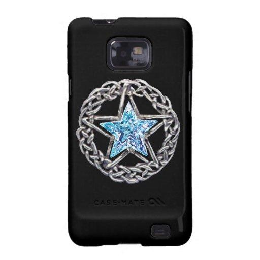 Caja cristalina de la galaxia de Samsung de la Funda Para Samsung Galaxy S2