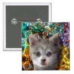 Caja cristalina del castillo de Kippy - Products4  Pin Cuadrada 5 Cm