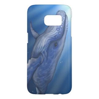 Caja/cubierta del teléfono de la ballena jorobada funda samsung galaxy s7