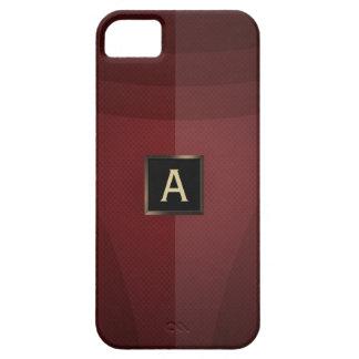 Caja de acero roja real del iPhone 5 de la armadur iPhone 5 Carcasas
