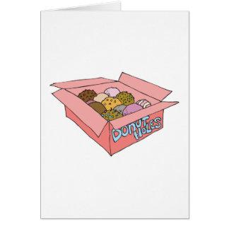 caja de agujeros del buñuelo