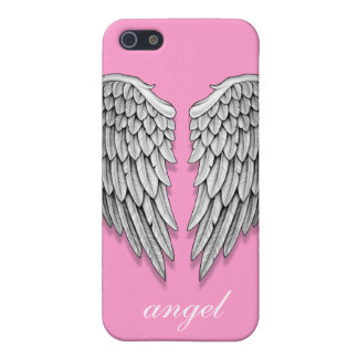 Caja de alas del ángel iPhone 5 fundas
