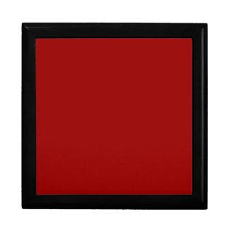 Caja de almacenamiento roja cajas de joyas