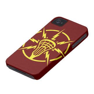 Caja de alto voltaje del teléfono Case-Mate iPhone 4 fundas