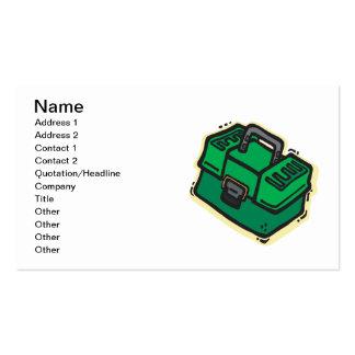 Caja de aparejos 2 tarjetas de visita