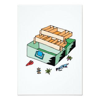 """Caja de aparejos invitación 5"""" x 7"""""""