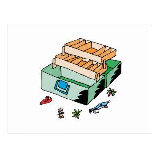 Caja de aparejos postales