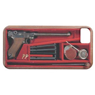 Caja de arma 001 iPhone 5 funda