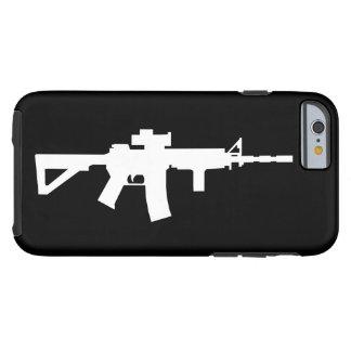 Caja de arma funda de iPhone 6 tough