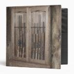 Caja de arma rústica de la cabina