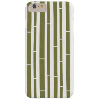 Caja de bambú del teléfono funda barely there iPhone 6 plus