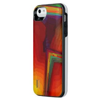 Caja de batería anaranjada del iPhone 5 Funda Con Bateía Para iPhone SE/5/5s
