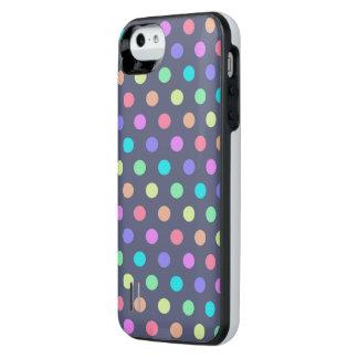 caja de batería del iPhone 5/5s Polkadots Funda Power Gallery™ Para iPhone 5 De Uncommon