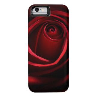 Caja de batería del iPhone 6 del rosa rojo