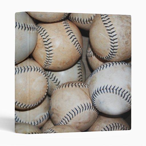 """Caja de béisboles carpeta 1"""""""