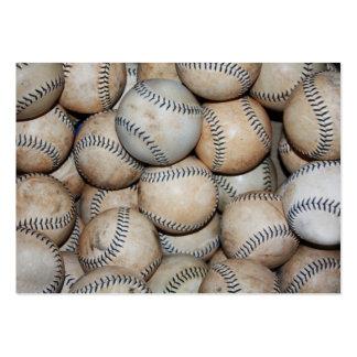Caja de béisboles tarjetas de visita grandes