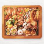 Caja de Bento del sushi - Mousepad