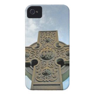 Caja de Blackberry de la cruz céltica Carcasa Para iPhone 4