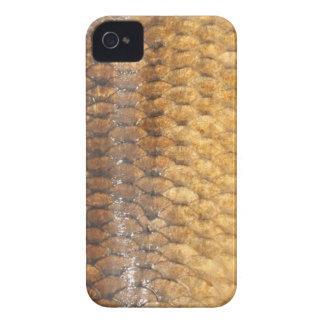 Caja de Blackberry de la piel de la carpa iPhone 4 Protectores