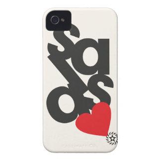 Caja de Blackberry de la salsa Case-Mate iPhone 4 Protector