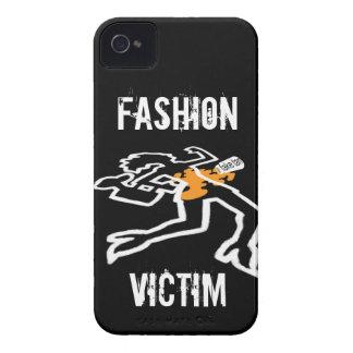 Caja de Blackberry de la víctima de la moda iPhone 4 Funda