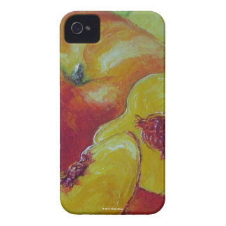Caja de Blackberry de los melocotones Carcasa Para iPhone 4 De Case-Mate