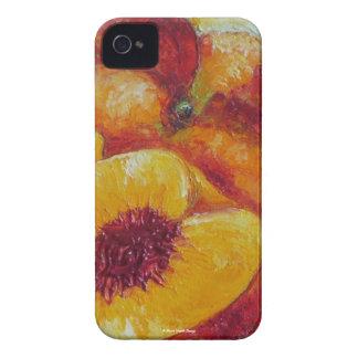 Caja de Blackberry de los melocotones Funda Para iPhone 4