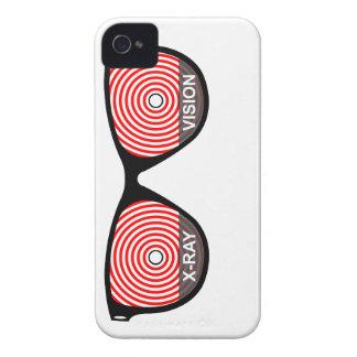 Caja de Blackberry de los vidrios de Vision de la Case-Mate iPhone 4 Protector