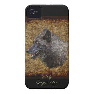 Caja de Blackberry del arte del partidario del iPhone 4 Protectores