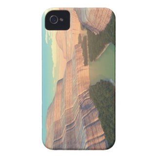 Caja de Blackberry del barranco del río Snake Funda Para iPhone 4