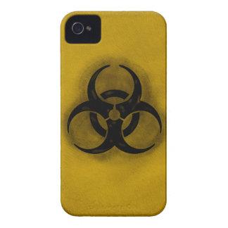 Caja de Blackberry del Biohazard del zombi iPhone 4 Protectores