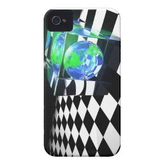 Caja de Blackberry del cubo de la tierra Funda Para iPhone 4 De Case-Mate