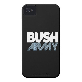 Caja de Blackberry del ejército de Bush Case-Mate iPhone 4 Funda