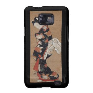 Caja de Blackberry del geisha del vintage Galaxy S2 Cobertura