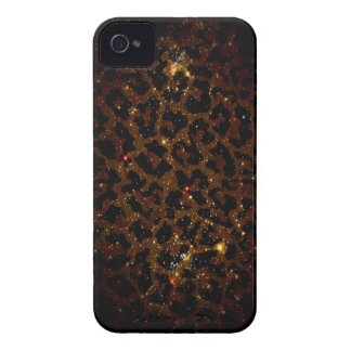 Caja de Blackberry del guepardo iPhone 4 Case-Mate Funda