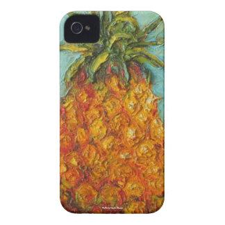 Caja de Blackberry del mercado de la piña Funda Para iPhone 4 De Case-Mate