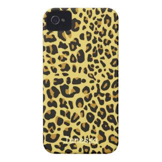 Caja de Blackberry del modelo de Jaguar iPhone 4 Funda