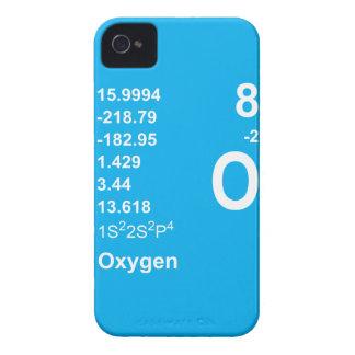 Caja de Blackberry del oxígeno luz en azul