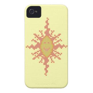Caja de Blackberry del resplandor solar Carcasa Para iPhone 4