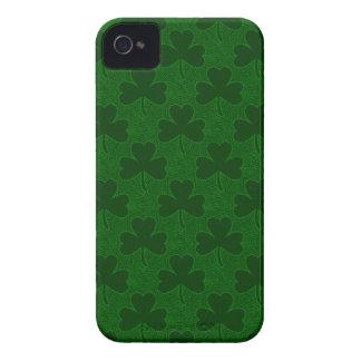 Caja de Blackberry del trébol Case-Mate iPhone 4 Protectores