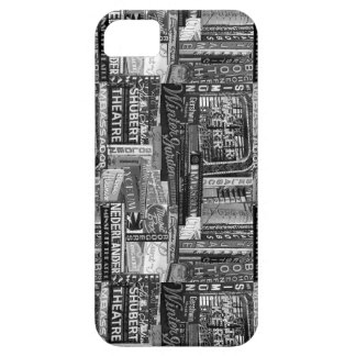 Caja de Broadway Iphone 5/5S (B&W) iPhone 5 Carcasa