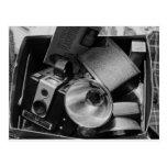 Caja de cámaras viejas de Kodak Postal