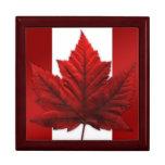 Caja de Canadá de la joyería del regalo del recuer Cajas De Joyas