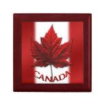 Caja de Canadá de la joyería del regalo del recuer Caja De Joyas