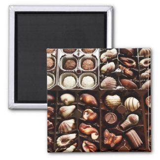 Caja de caramelo imán para frigorífico