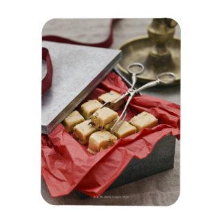 Caja de caramelos del caramelo imanes
